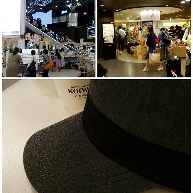 東京駅で打ち合わせ。売り場の見学でエキュート東京へ行った際、備後デニムのキャップを手に入れてしまった。(今は3ヶ月店舗に岡山の石田制帽さんが入っています。)売り場は、色んな出会いがありますね。小岩井さんのソフトクリームで一息ついて、今度は池袋。食事を取りながら打ち合わせ。お疲れ様でした#desighner #desighn #cafe #小岩井農場 #ecute #ecute東京 #エキュート東京 #店舗設計 #店舗デザイン #デザイン #カフェ #ikisui #石田制帽 #ルミネ池袋